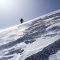 Carl Walker in the Elk Mountains on a windy day.- A Look Behind the Lens with Ian Fohrman