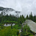 Snow Lake Trail.- Hiking with a Minimalist Shoe