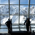 Courmayeur, Italy. The Skyway Monte Bianco is a mind bending tribute to human ingenuity and fortitude. The futuristic cable car, finished in 2015 after four years and 110 million Euros, juts skyward from an equally impressive base station in Entrèves.- A Look Behind the Lens with Ian Fohrman