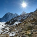 A trek to Everest Base Camp is a once-in-a-lifetime experience. Photo by valcker via Creative Commons.- 10 Summits You Should Climb in Your Life