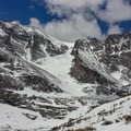 "The ""spring"" hike approach Chasm Lake. Conditions can and do change very quickly so, check in with the rangers at the trailhead.- A Perfect 3-day Colorado Rocky Mountain Itinerary"