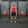 Deadlift top position.- Strength Training the Right Way for Adventure