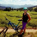 One of my favorite places on earth to ride through the San Juan Mountains, southwest Colorado. Photo by Kristina Fox. - Woman In The Wild: Amy Schweim