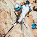 Cracks for days.- Moab: Women's Climbing Clinics