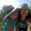 My granddaughter, Madelyn, and I on a weekend hike in Texas.- Woman In The Wild: Josie Gutierrez