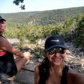 My youngest daughter and I enjoying a nice 5-mile hike at Lost Maples State Park in Texas.- Woman In The Wild: Josie Gutierrez