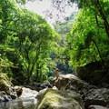 Embera man above the creek.- 4-Day Adventure in and around Panama City, Panama