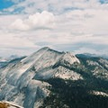 Cloud's Rest, another close by peak, as viewed from Half Dome.- Summit Trips Along the Pacific Crest Trail