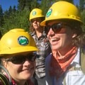Big smiles on the trail.- The Bold Betties: Idaho Trails Association Women's-Only Trail Maintenance