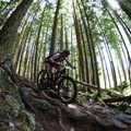 In Stage 4 of BC Bike Race Kaysee fights back into second place after enjoying a technical day riding trails in North Vancouver. Photo by Todd Weselake.- Woman In The Wild: Kaysee Armstrong
