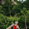 Walking up to a viewpoint.- An Adventure Guide to Koh Tao: Exploring a Thai Paradise