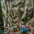 Climbing Divine route.- An Adventure Guide to Koh Tao: Exploring a Thai Paradise