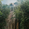 Climbing next to Fraggle Rock.- An Adventure Guide to Koh Tao: Exploring a Thai Paradise