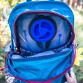 A pouch for a water resevoir and attachment are on the inside of the pack.- Gear Review: Deuter Futura 26 SL