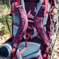 The backpanel of the Mountainsmith Mayhem 35 daypack.- Gear Review: 5 Best Women's Daypacks of 2018