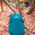 Front view of the pack and stretch mesh pocket.- Gear Review: Gregory Sula 28 Daypack