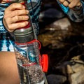 Pumping the water through the purifier is both quick and easy.- Gear Review: MSR Guardian Water Purifier