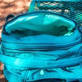 A small stash pocket on the top front of the pack.- Gear Review: Gregory Sula 28 Daypack