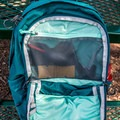A large stash pocket inside of the pack.- Gear Review: Gregory Sula 28 Daypack