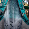A close up of the back panel.- Gear Review: Gregory Sula 28 Daypack