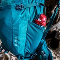 Side mesh pouch for a water bottle.- Gear Review: Gregory Sula 28 Daypack