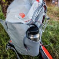 Side mesh pouch.- Gear Review: The North Face Aleia 32 daypack