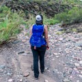Hiking through the Arizona desert with Osprey's Tempest 30 daypack.- Gear Review: Osprey Tempest 30 Daypack