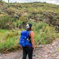 A side view of the pack in use.- Gear Review: Osprey Tempest 30 Daypack