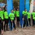 An Operation Surf and Amazing Surf Adventures event held in Santa Cruz, California.- The Healing Power of the Outdoors