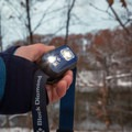 Two different LEDs produce different intensity and angled beams.- Gear Review: Black Diamond ReVolt Headlamp