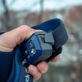 The covered micro USB port is used to charge the batteries.- Gear Review: Black Diamond ReVolt Headlamp