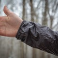 The cuffs are elastic and simple, but they are comfortable.- Gear Review: GORE R7 GORE-TEX Shakedry Hooded Jacket