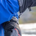 The gauntlets are not long, but they fit well over a few layers.- Gear Review: Rab Storm Gloves