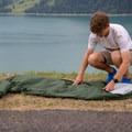 Setting up the bivvy.- Gear Review: Alpkit Hunka XL Bivvy Bag