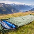 The bivvy can be set up in smaller areas where a tent might not fit.- Gear Review: Alpkit Hunka XL Bivvy Bag