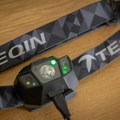 The headlamp charges through a Micro USB cable and has a green LED indicator when the battery is charged.- Gear Review: TEQIN Rechargeable Headlamp