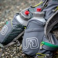 The bottle pockets are located on the chest, which makes it much more comfortable and balanced than a hydration bladder on the back.- Gear Review: Ultimate Direction Jurek FKT Running Vest