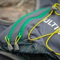 There is also an elastic band to compress the pack and attach extra clothes or shoes.- Gear Review: Ultimate Direction Jurek FKT Running Vest