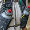 Ultimate Direction Jurek FKT Running Vest loaded with water bottles.- Gear Review: Ultimate Direction Jurek FKT Running Vest