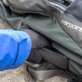 There is a side handle on the pack for transporting when the straps are folded away.- Gear review: Osprey Farpoint 40 Backpack