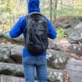 The Farpoint 40 is pretty comfortable considering its thin shoulder and hip straps.- Gear review: Osprey Farpoint 40 Backpack