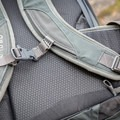 The chest and hip belts are pretty easy to adjust.- Gear review: Osprey Farpoint 40 Backpack