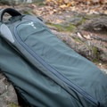 The pack with the shoulder and hip straps folded away.- Gear review: Osprey Farpoint 40 Backpack