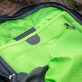 The smaller pocket has a slot for laptops, books, etc.- Gear review: Osprey Farpoint 40 Backpack