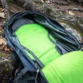 The large inner pocket is large enough to fit a lot of stuff - but it's hard to organize it.- Gear review: Osprey Farpoint 40 Backpack