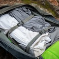 There are compression straps to help you compress your luggage.- Gear review: Osprey Farpoint 40 Backpack