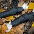 The straps pack down nice and neat.- Gear review: Antigravitygear MULETAPE Suspension Straps