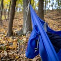 The stuff sack can be used as a little pouch for small items.- Gear review: Grand Trunk Ultralight Hammock