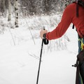The Casio Pro Trek is a sturdy watch, so it can easily be worn outside of your winter layers.- Cross-country Skiing the Mahogany Ridge Trail with the Casio Pro Trek