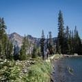 Lower Red Pine Lake in the Wasatch Mountains.- Tips for Leading Beginners into the Great Outdoors